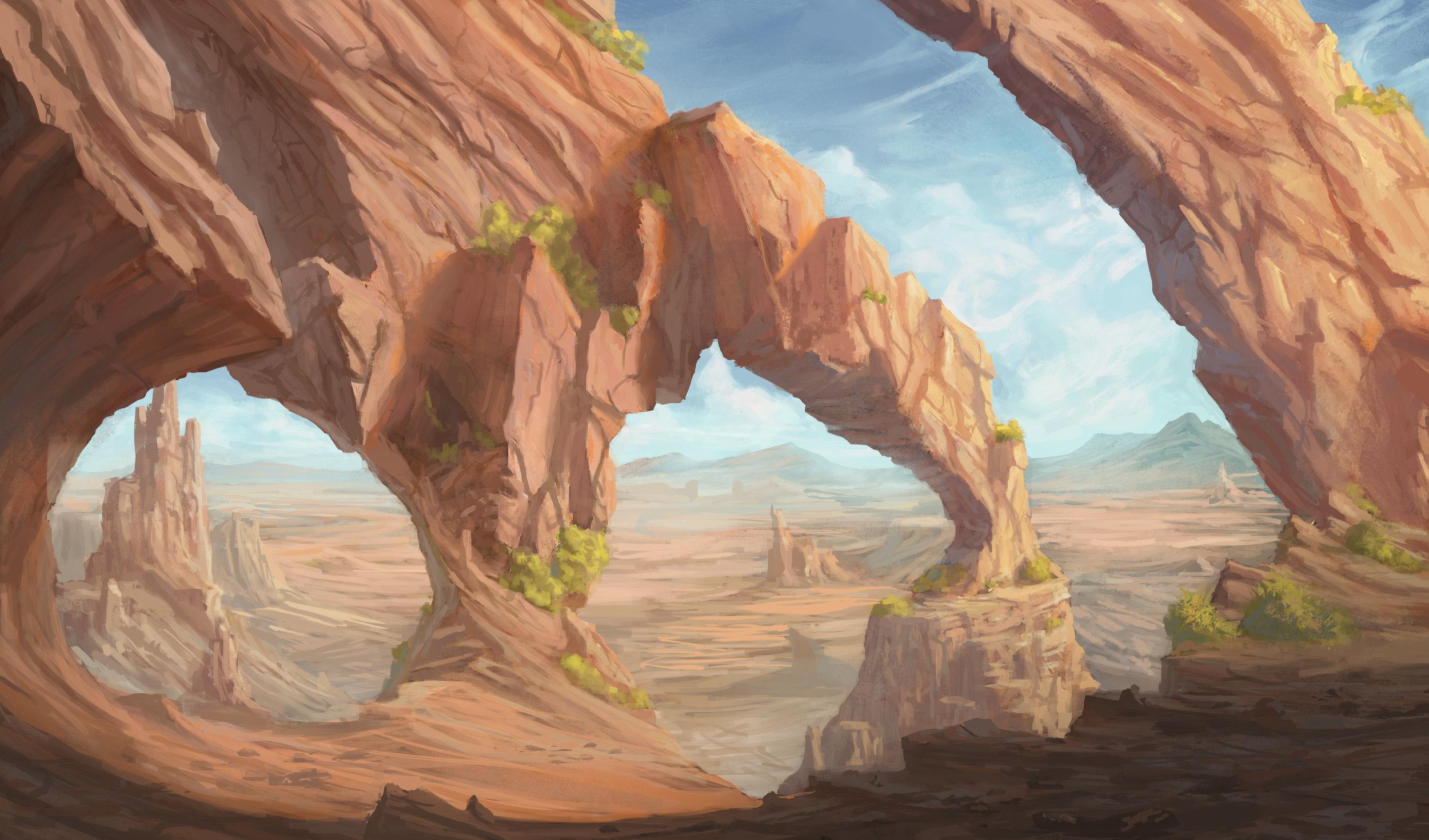 Arches of Driden Desert