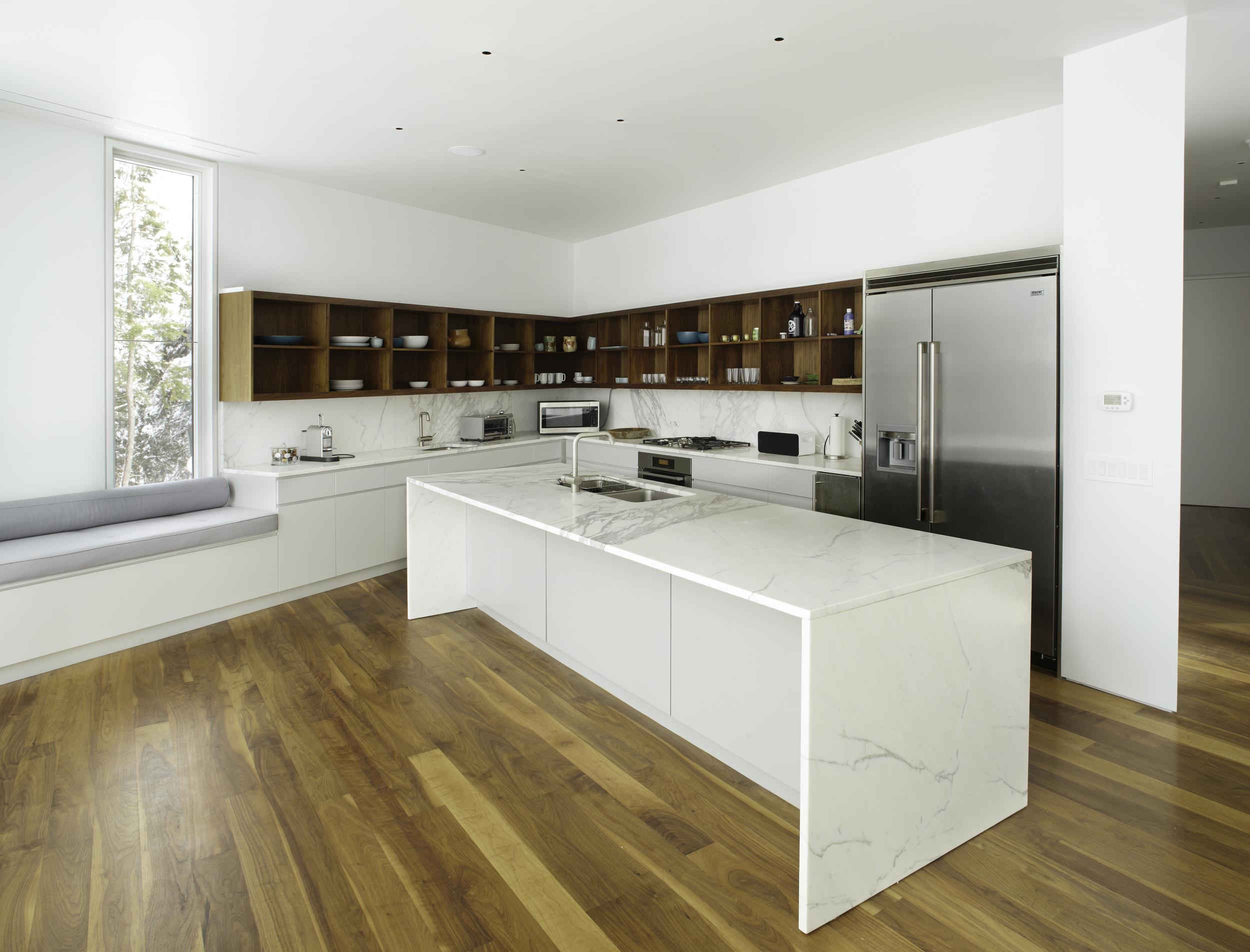 gorgeous white kitchen in new york real estate acres