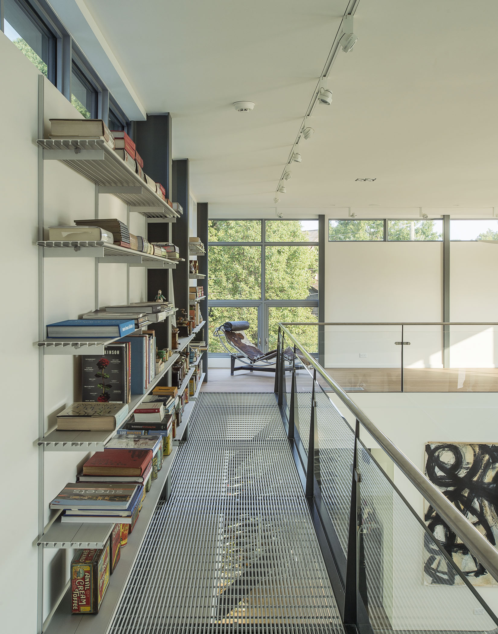 custom luxury home library study on the water