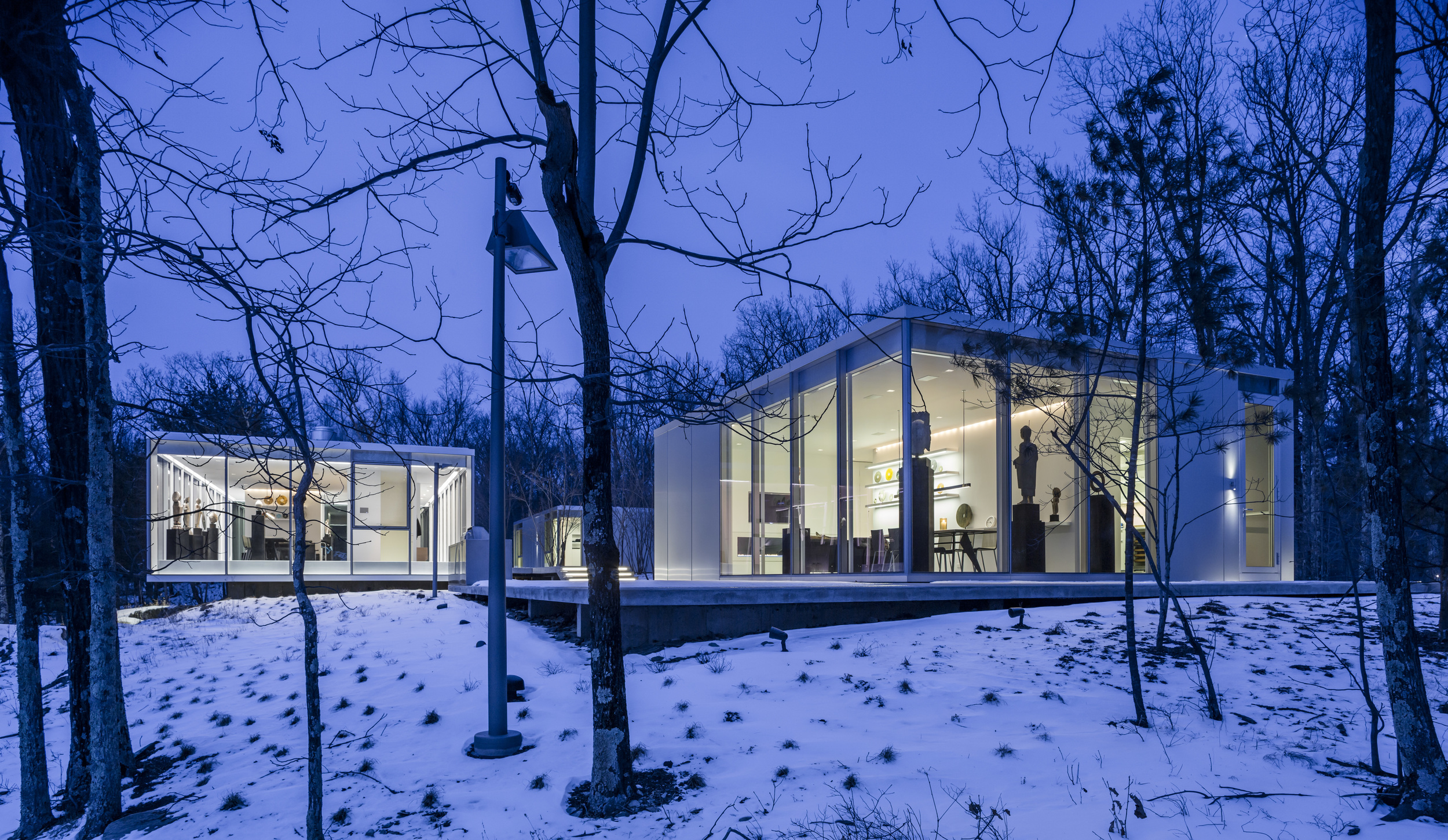 Quiet Modern Home in the Woods