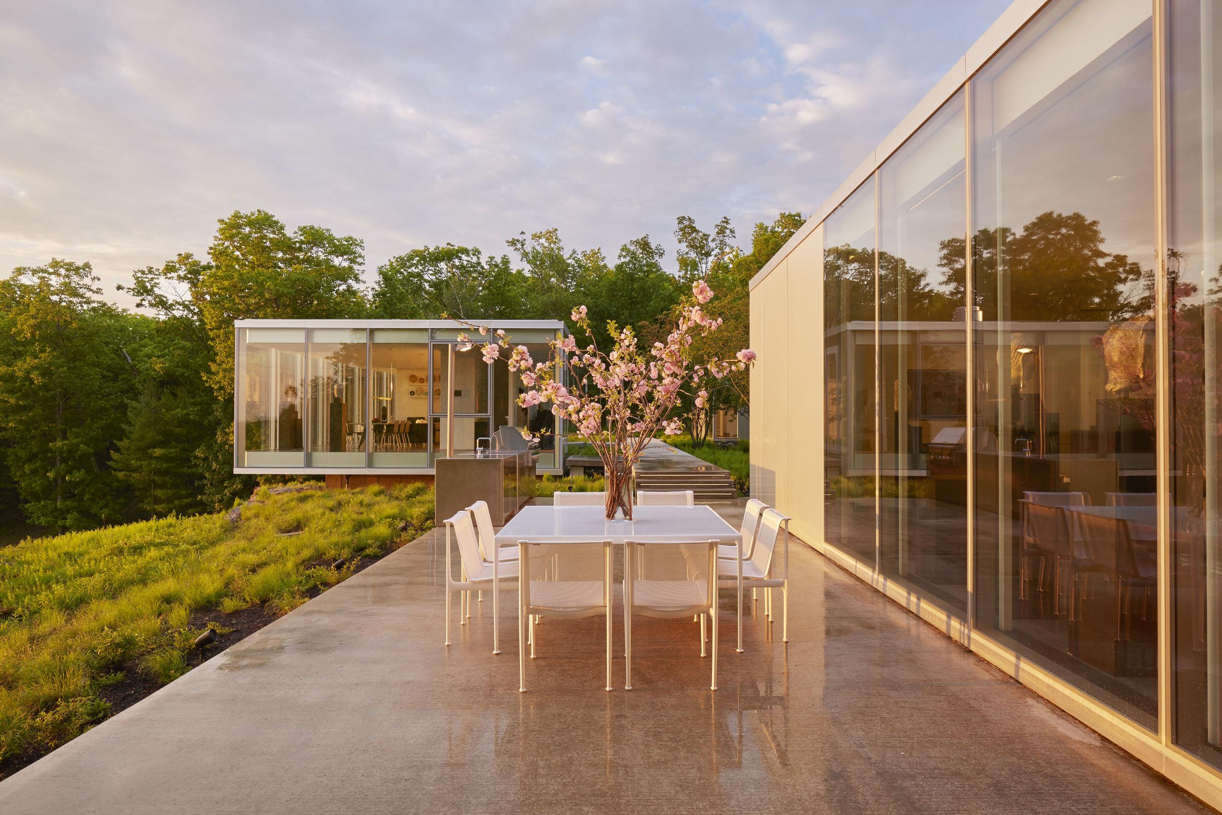 Toshiko Mori House at Sunset