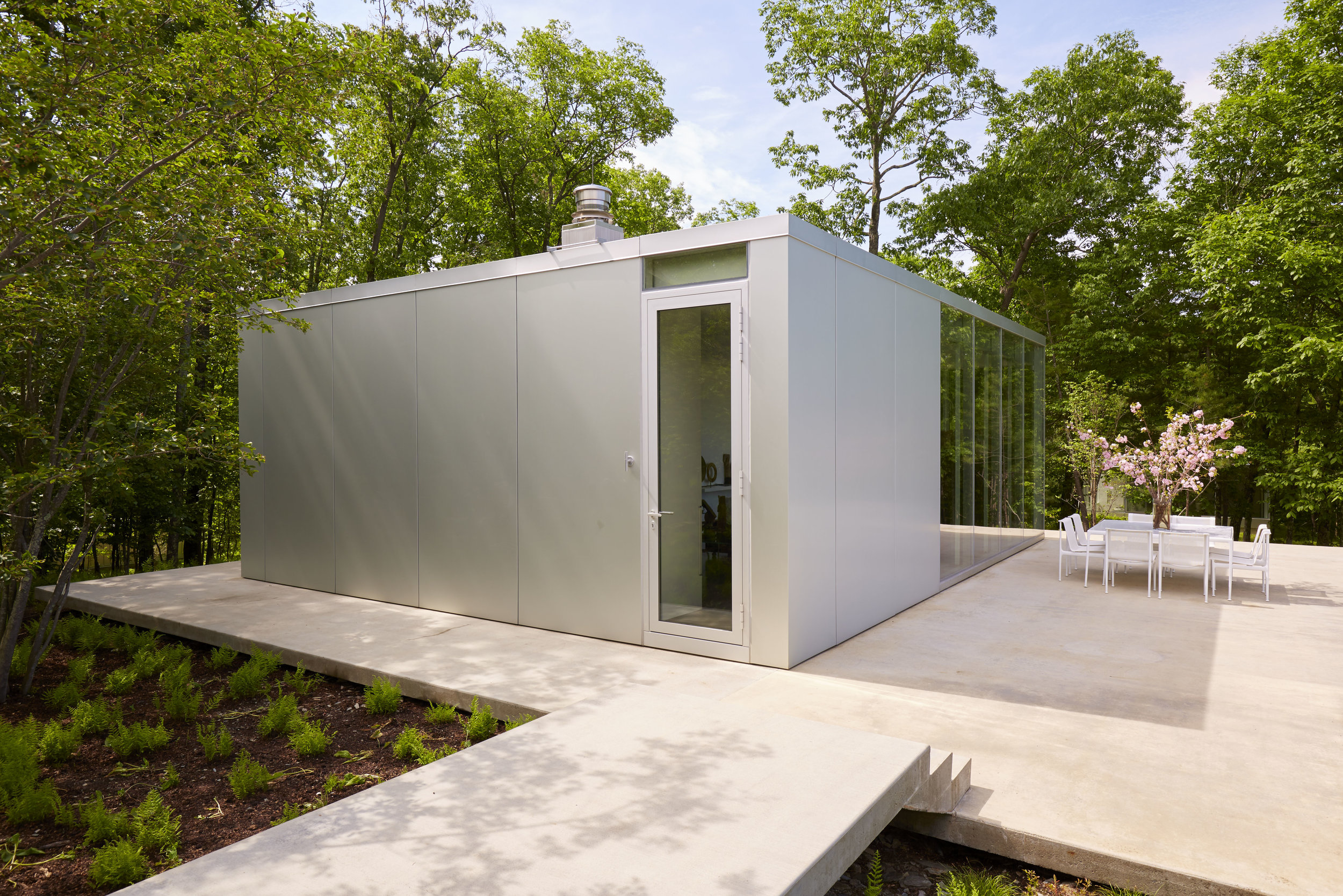 Modern house in new york