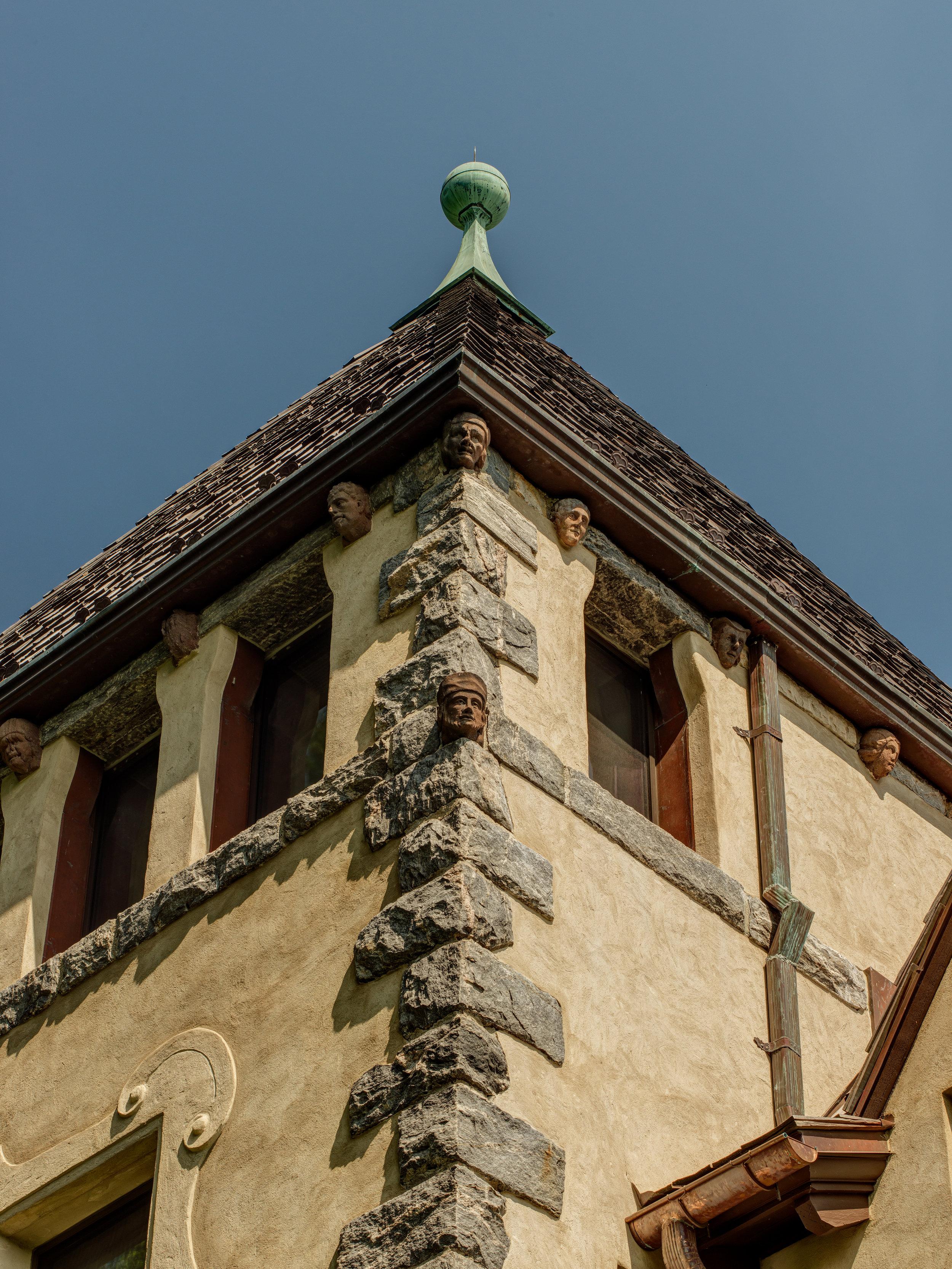 vintage antique belfry medieval restoration
