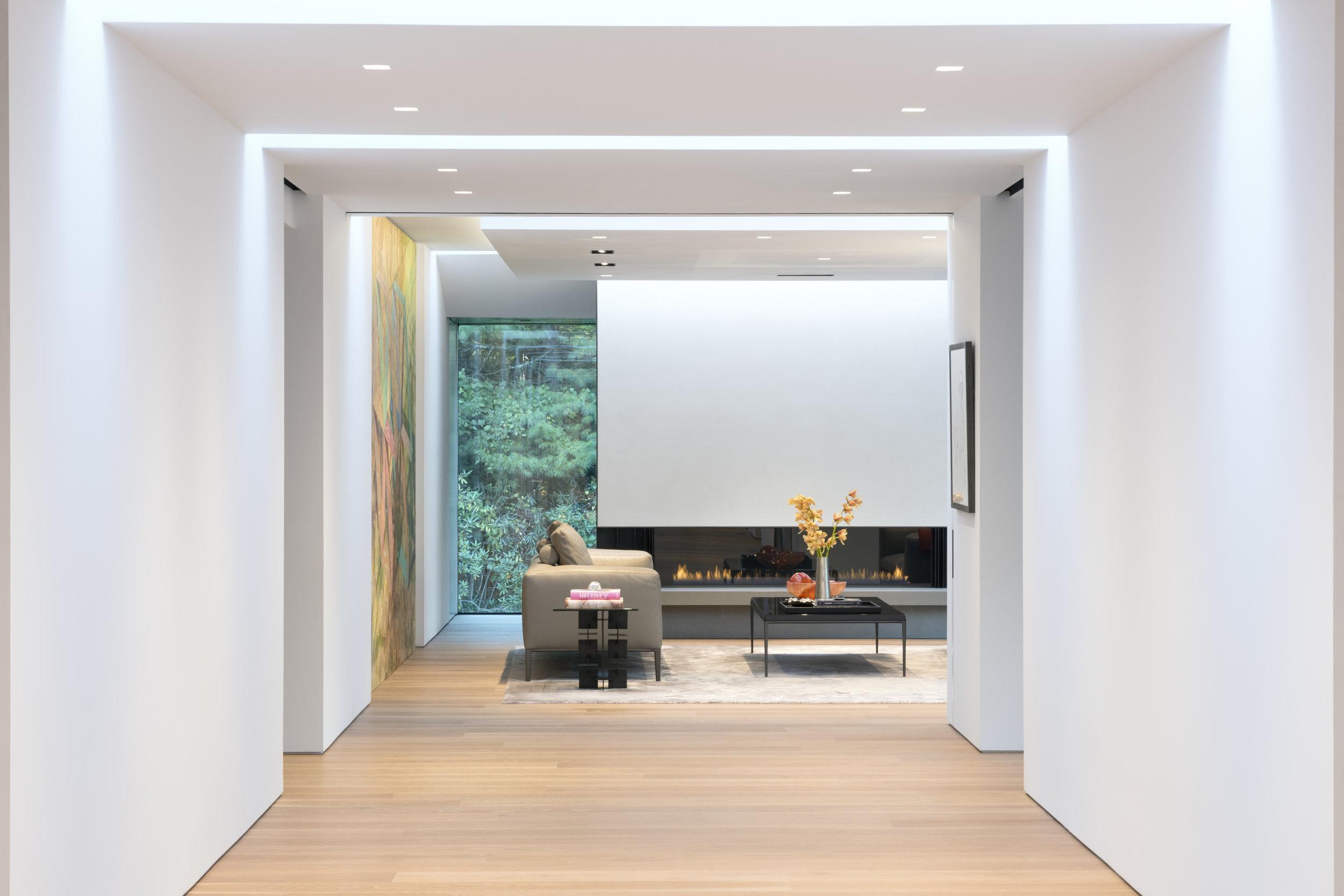 Modern interior design in Connecticut