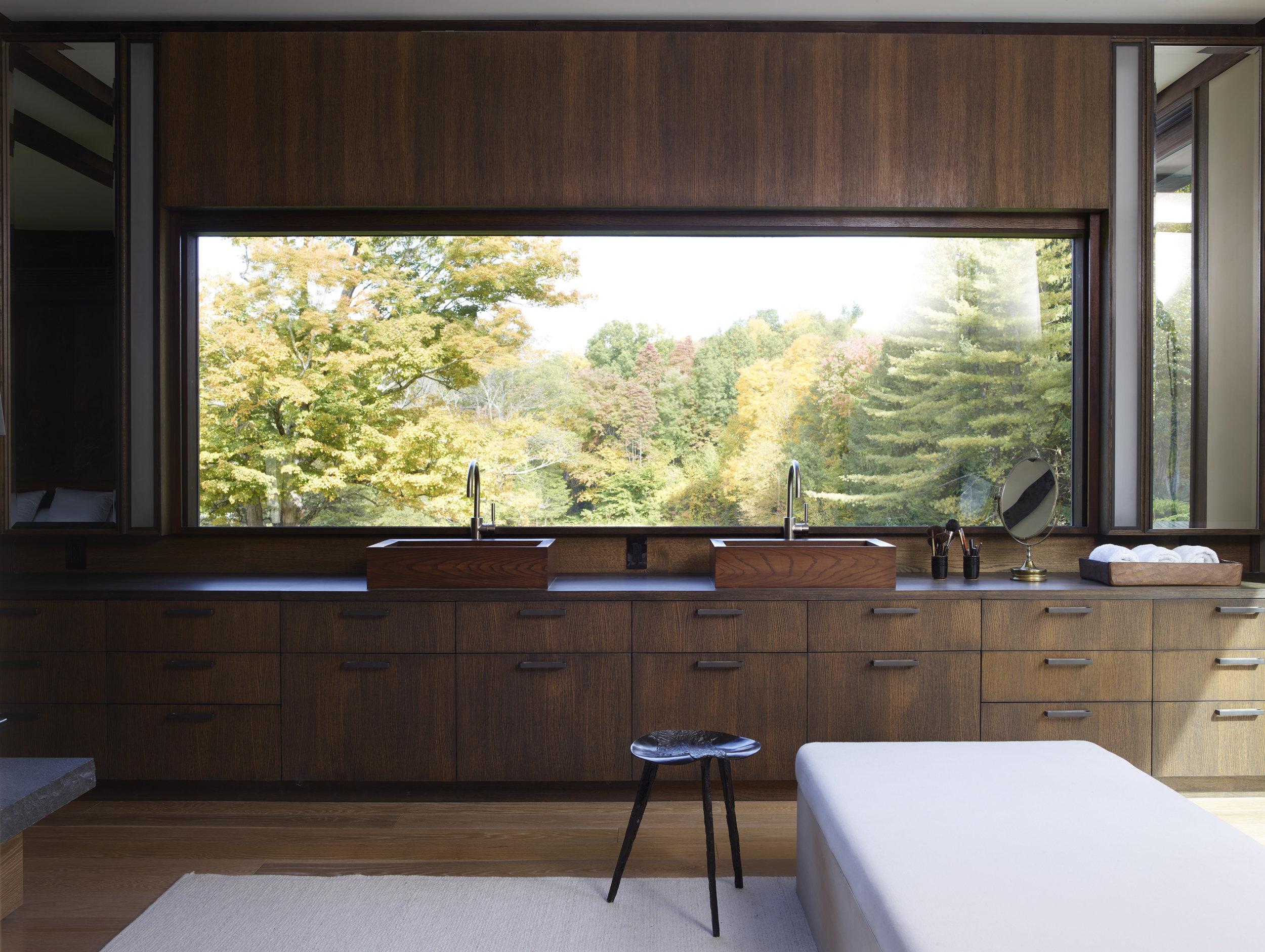 beautiful wood interior design exposed