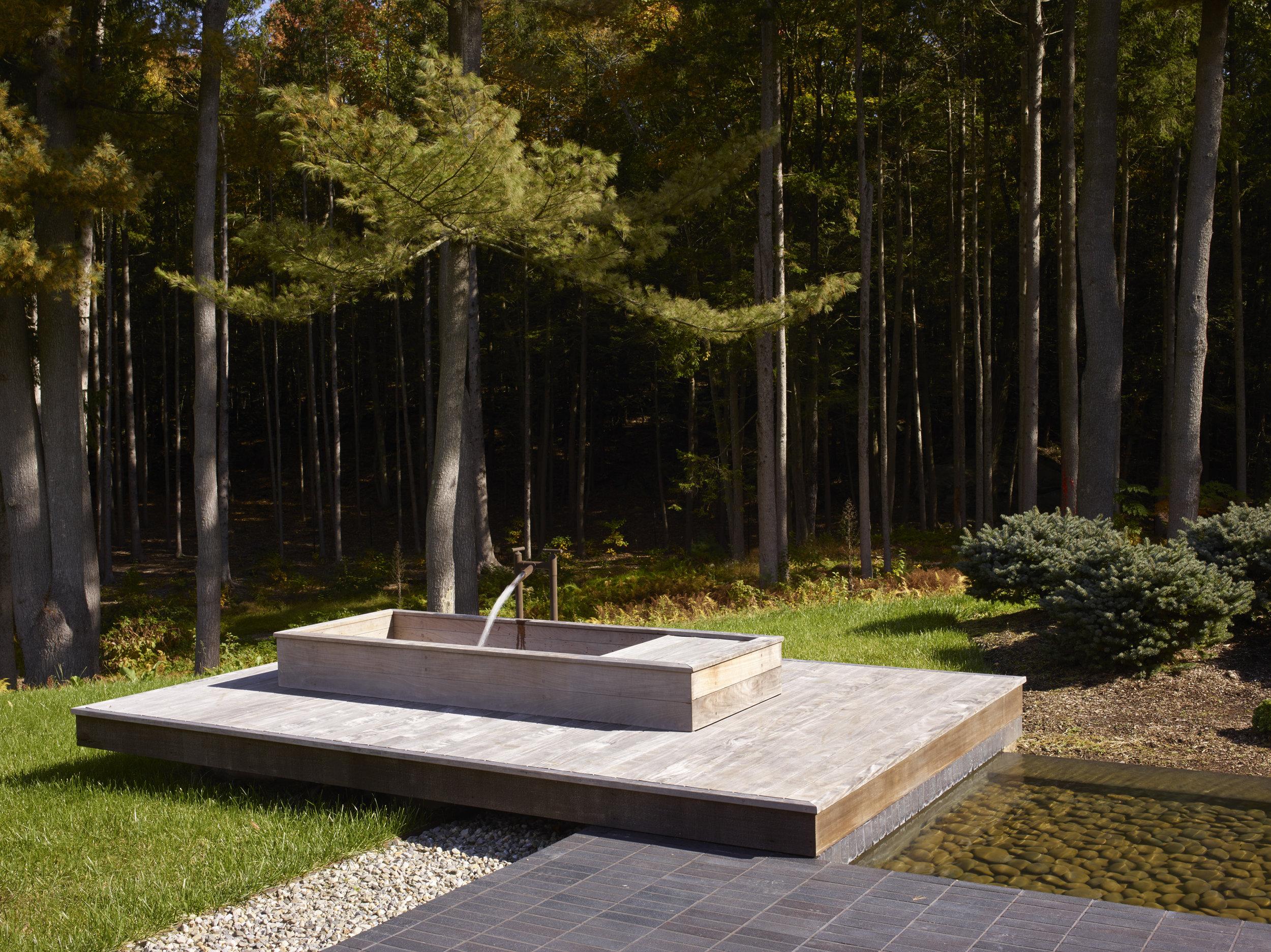 relaxing connecticut modern home japanese gardens