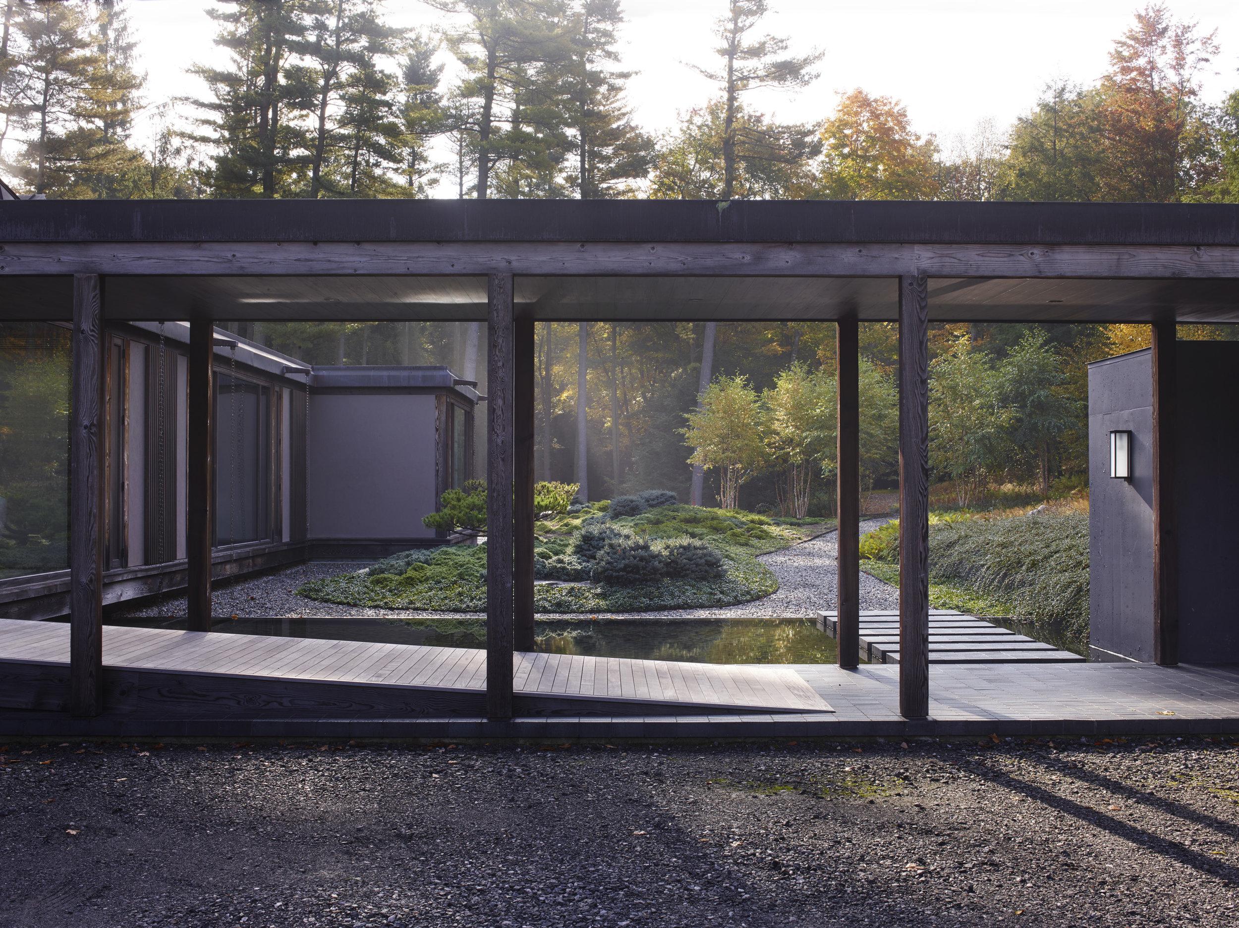 beautiful exposed timber luxury house