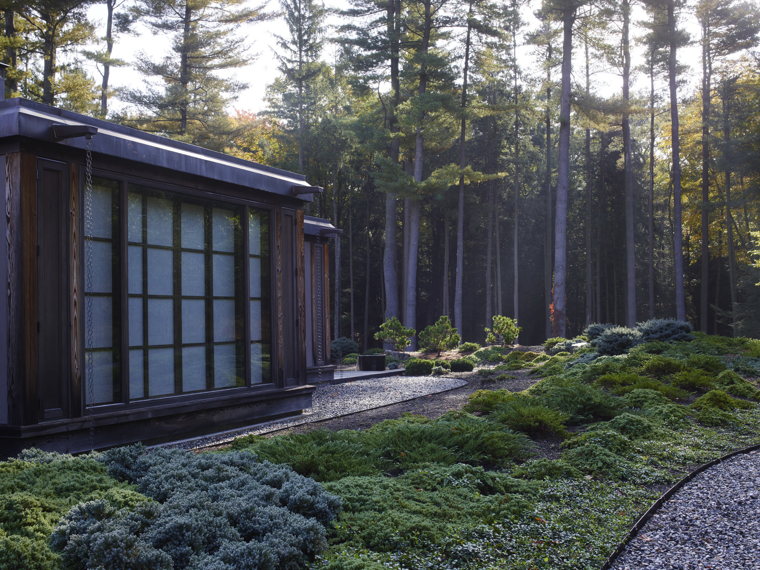 Japanese inspired teahouse
