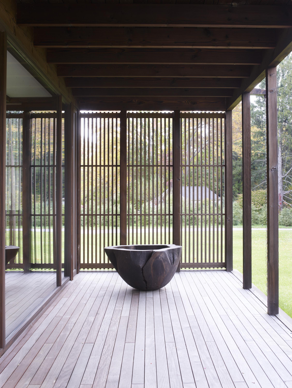 natural landscape modern architecture