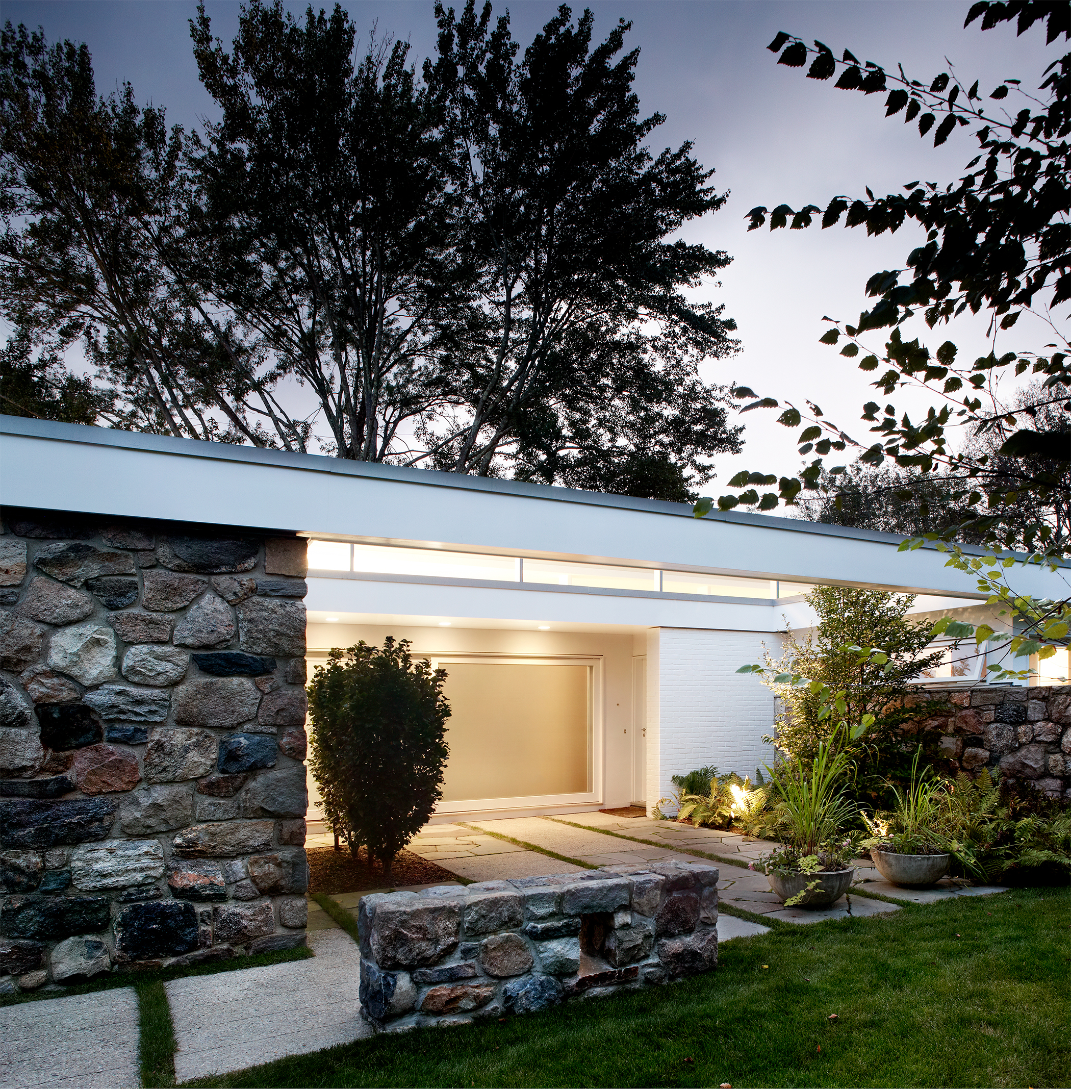 Stone and Glass Breuer House