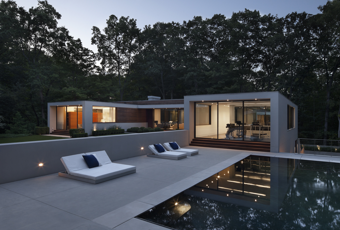 gorgeous pool modern architecture relaxing