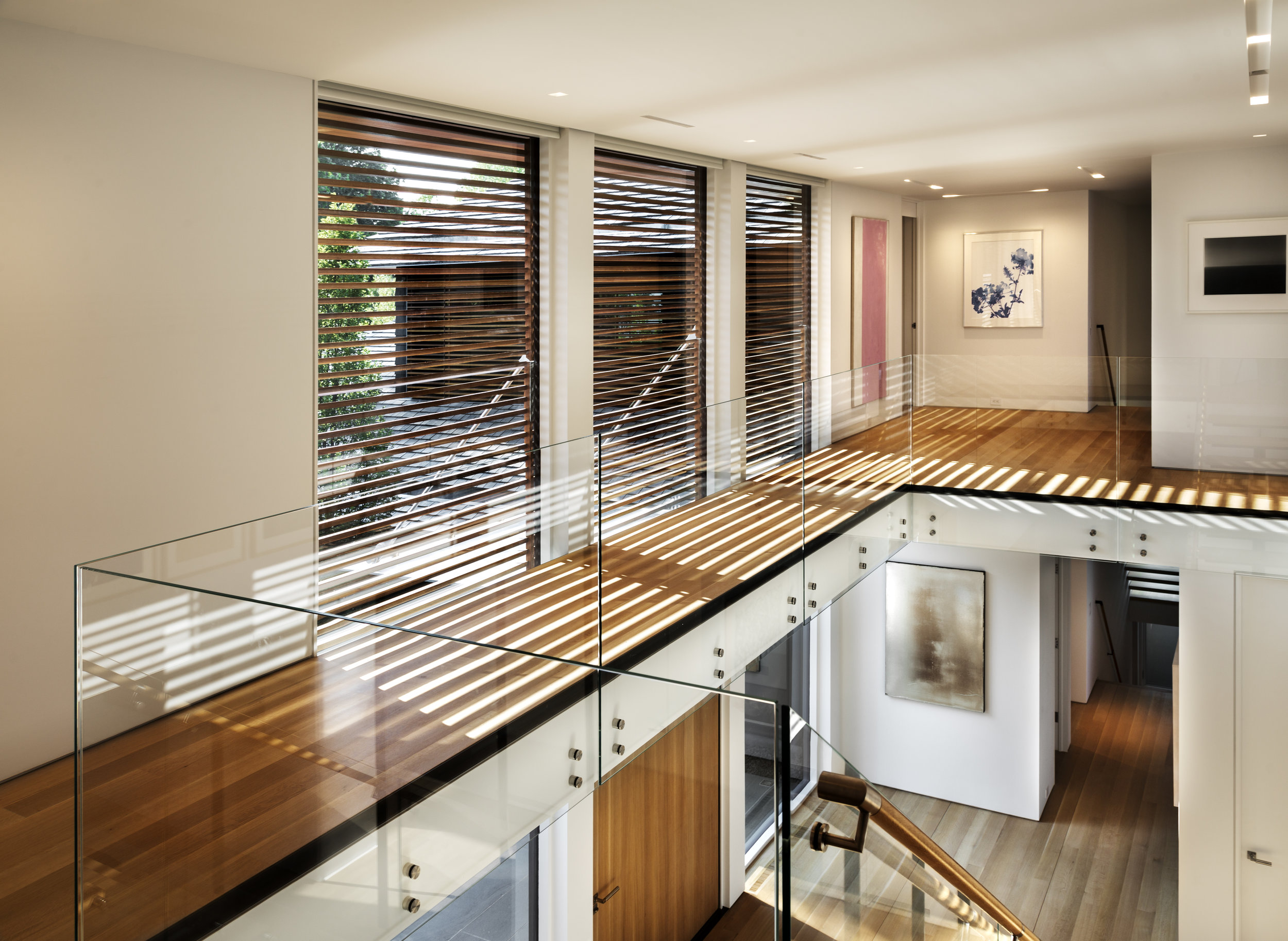 contemporary art display modern home