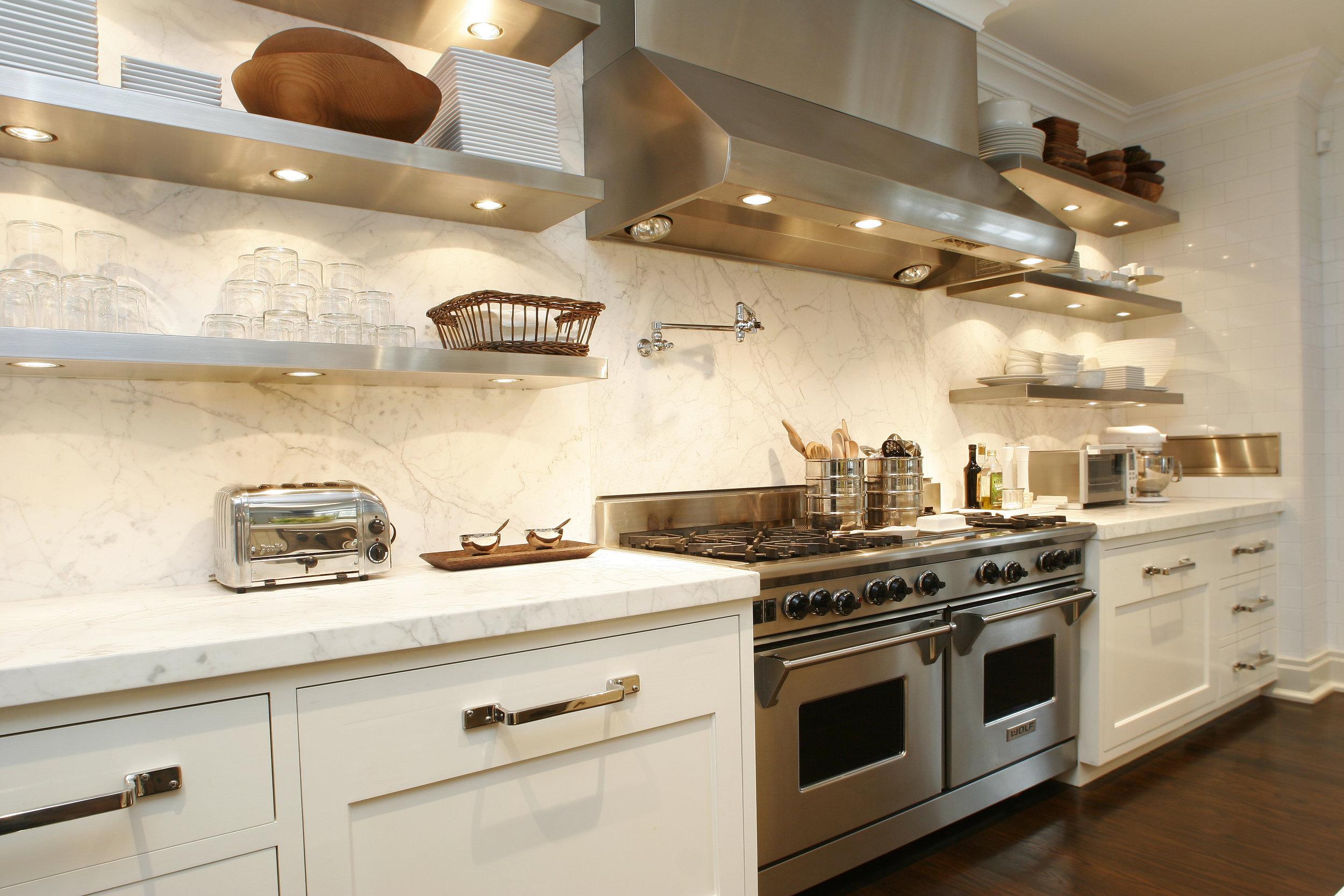 stunning white kitchen interior design