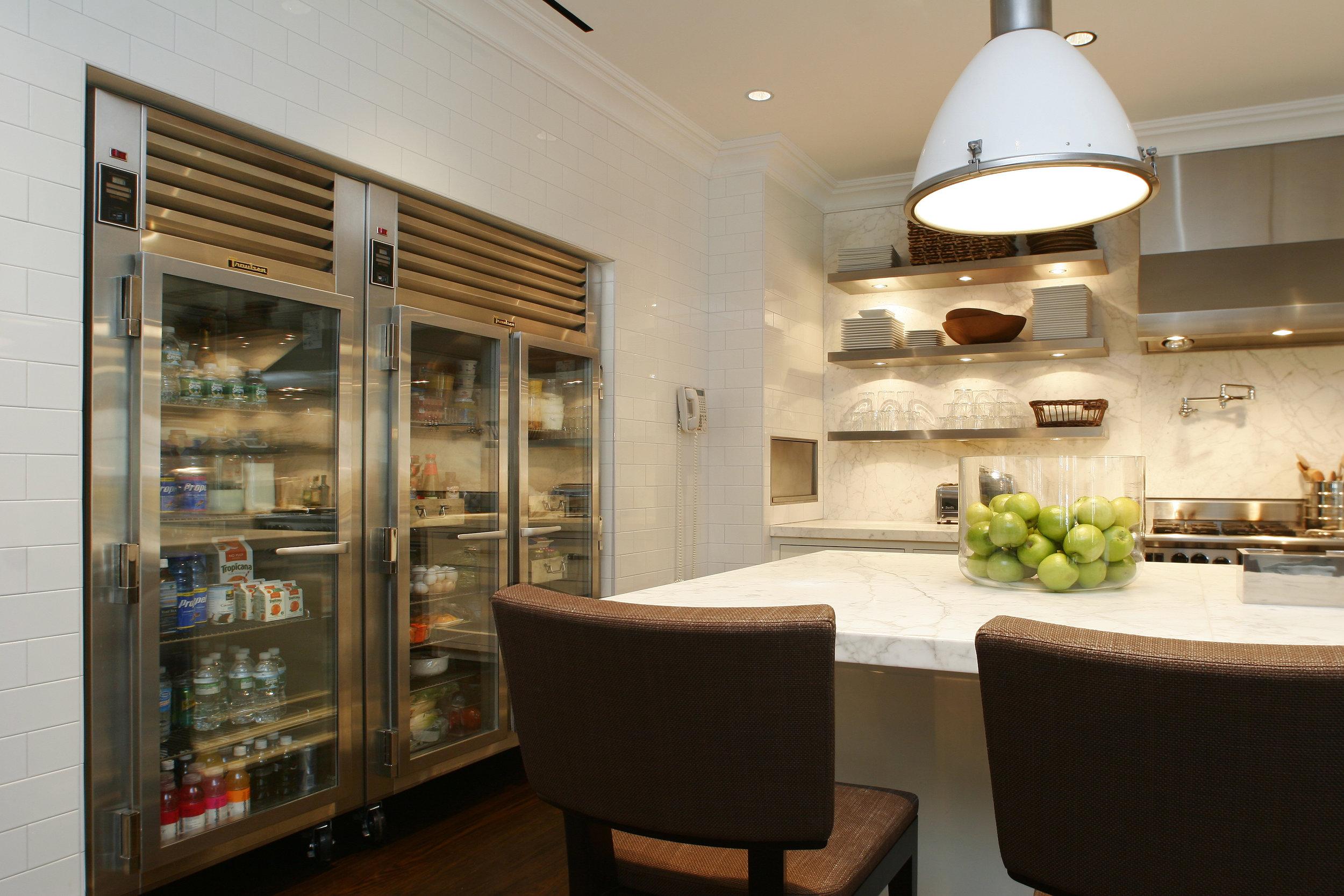 pristine luxury white kitchen custom in greenwich CT