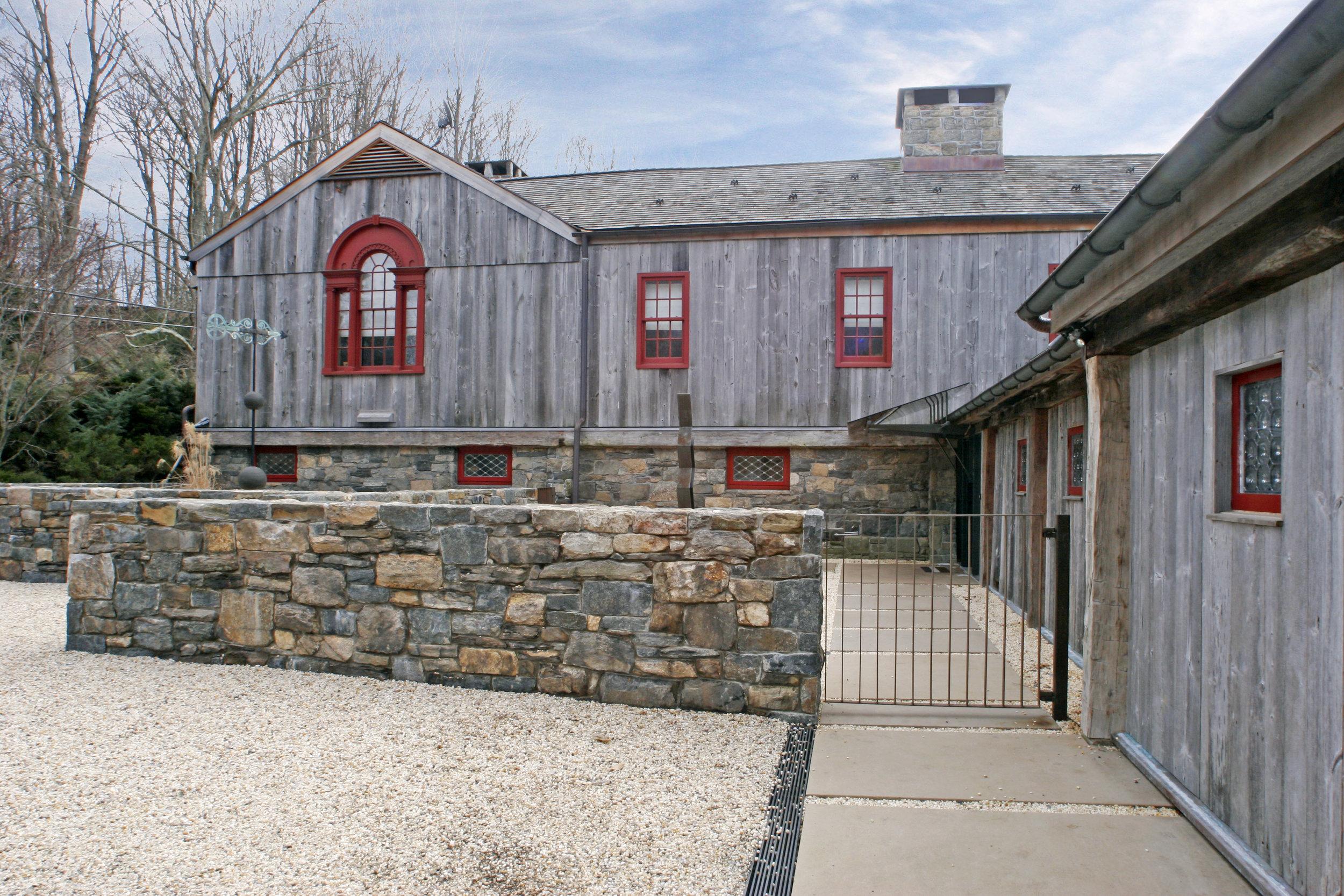 traditional barn style custom luxury lodge
