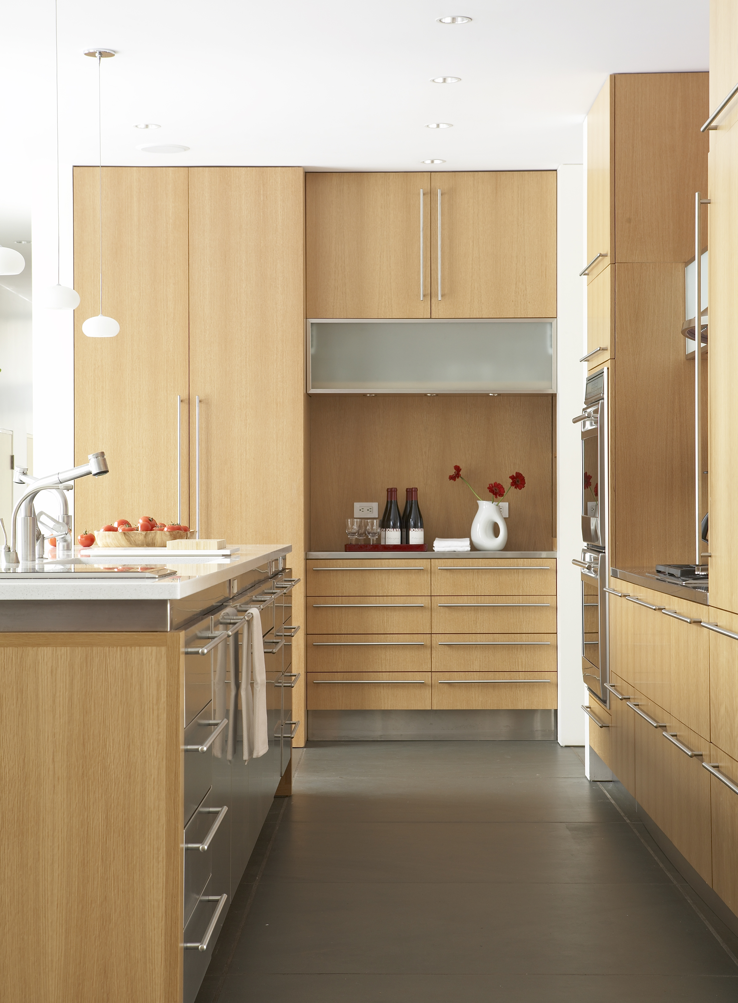 modern luxury kitchen clean appliances