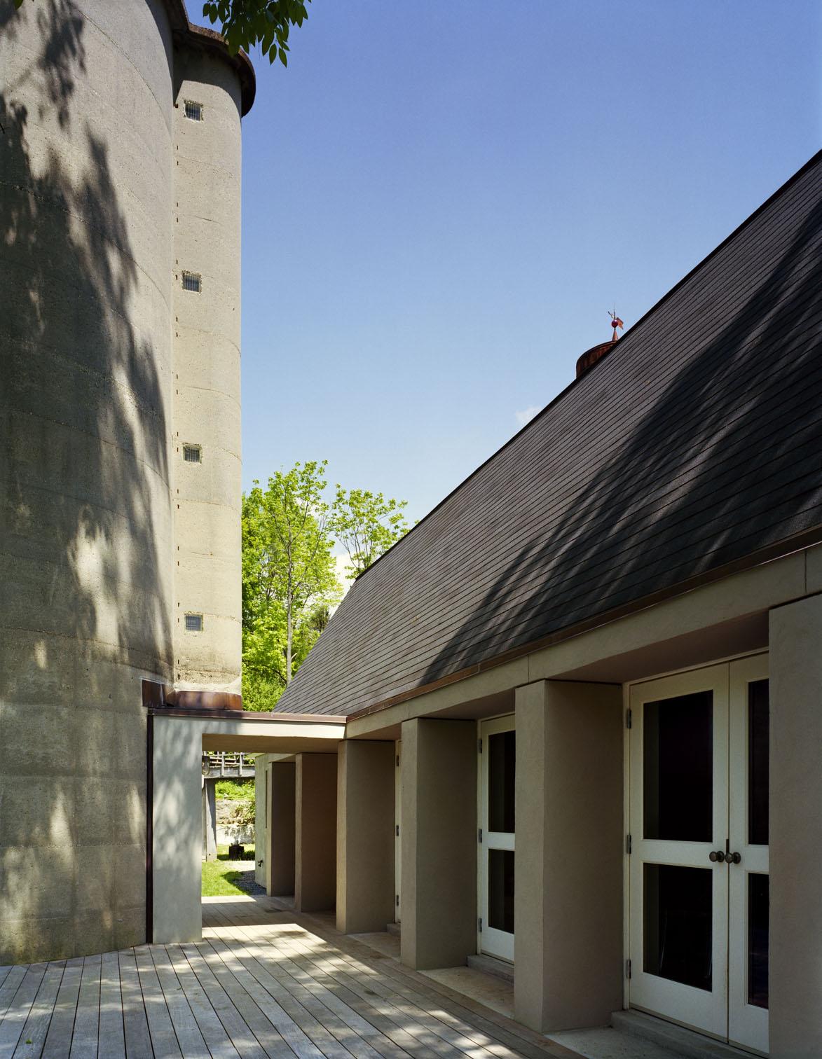 traditional barn turned modern custom design