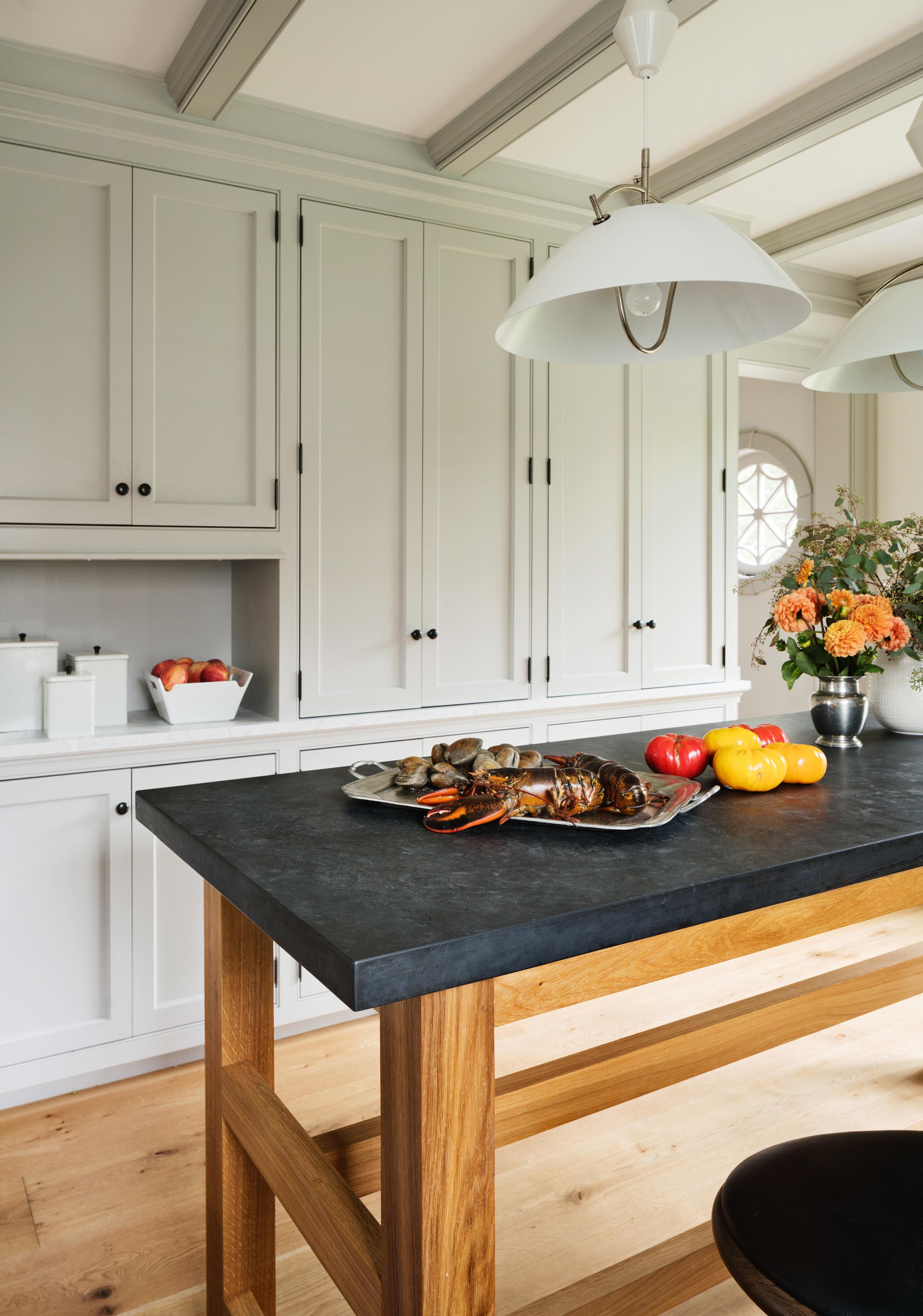 working kitchen luxury appliances