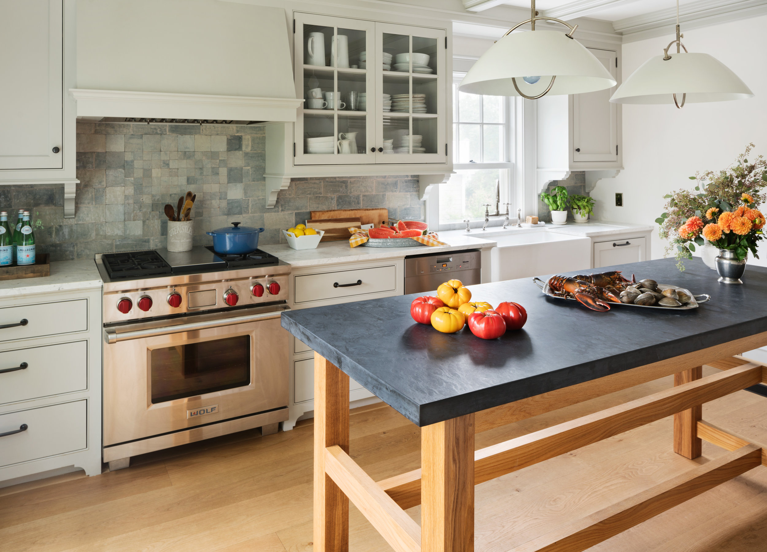 clean kitchen cooking professional home