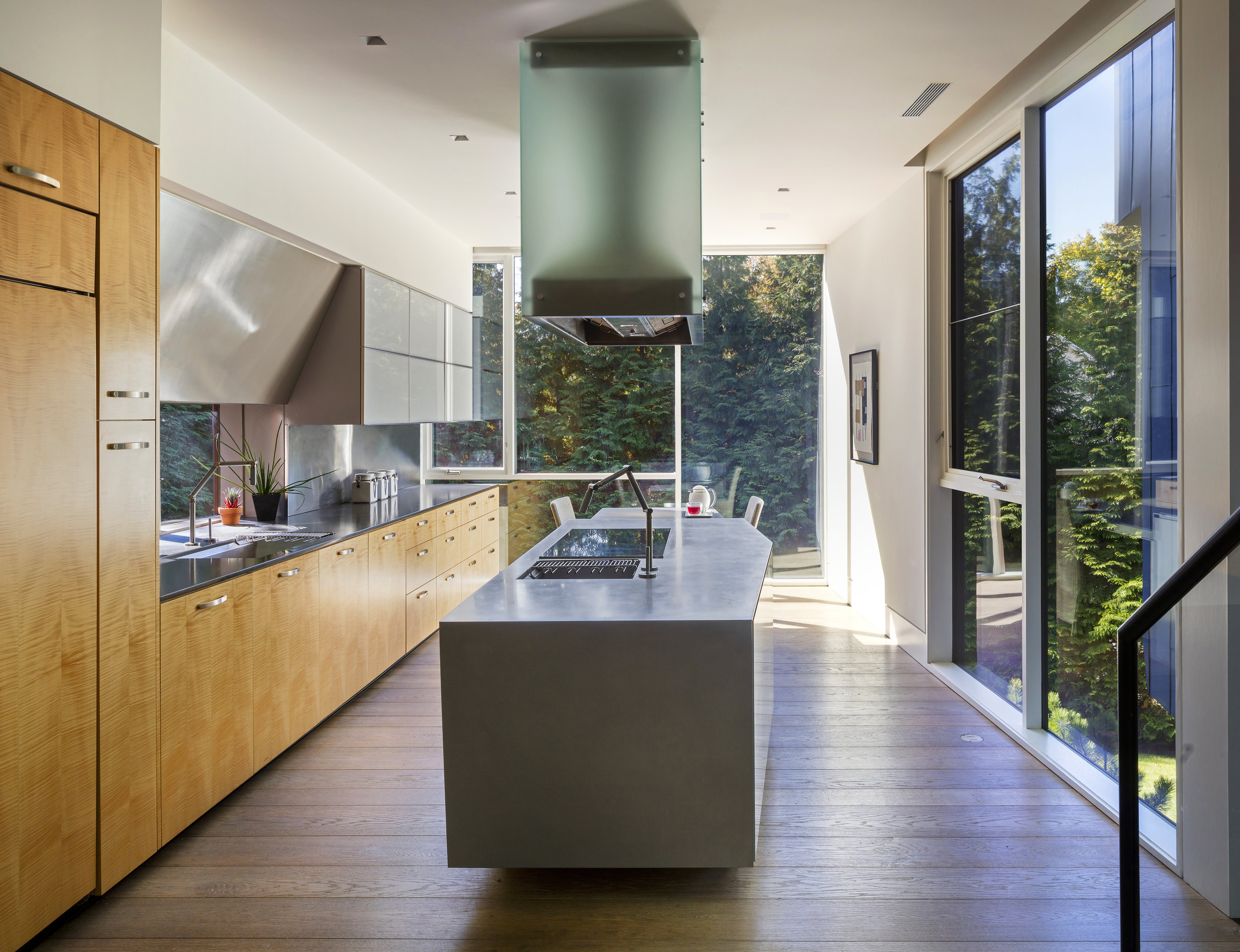 modern custom luxury kitchen design