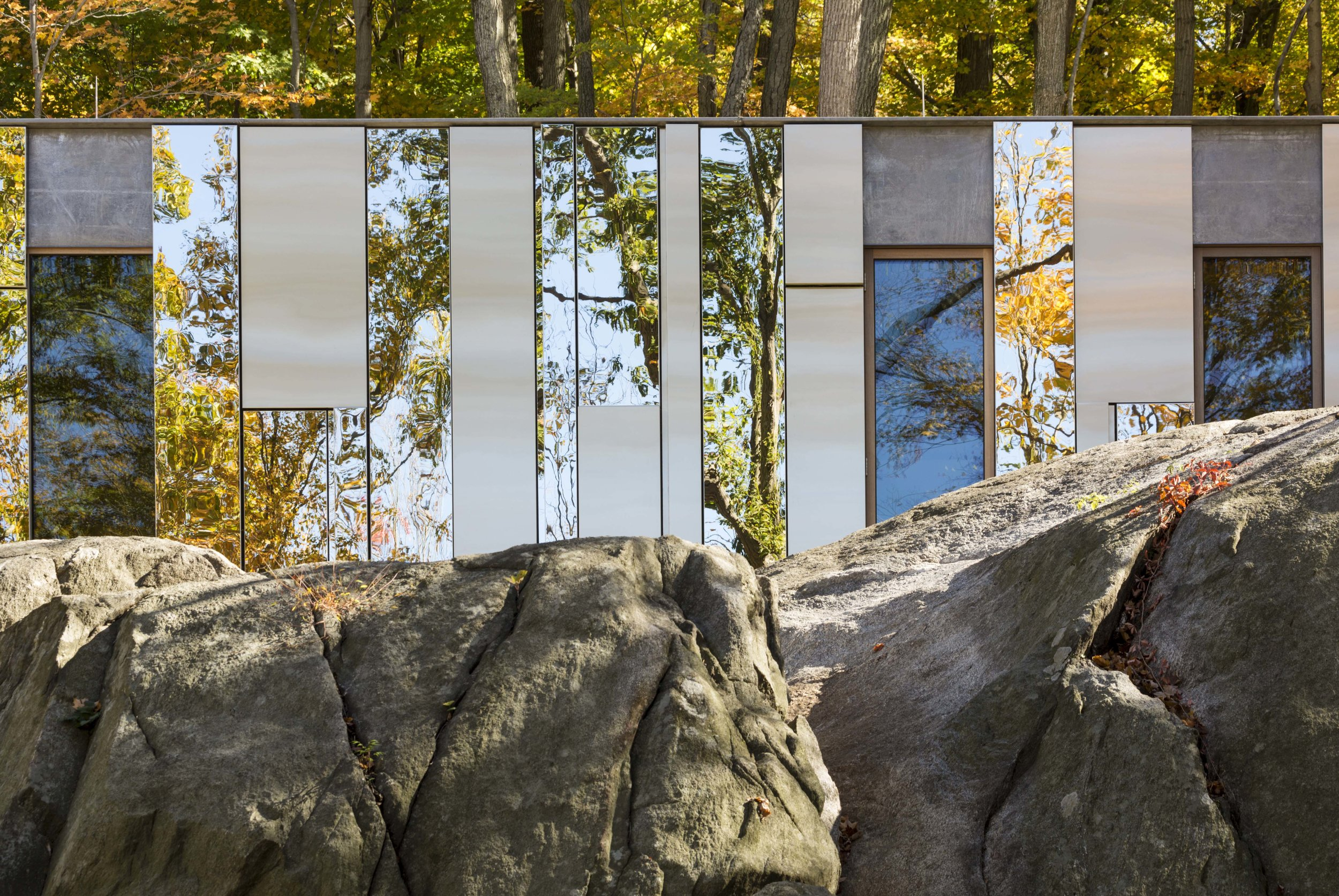 architectural record - Record Houses: Pound Ridge House by KieranTimberlake, April 2015