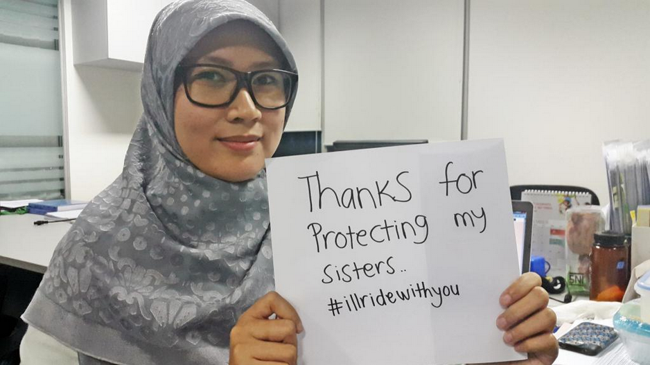 Angger Prawitasari  thanks all supporting #illridewithyou