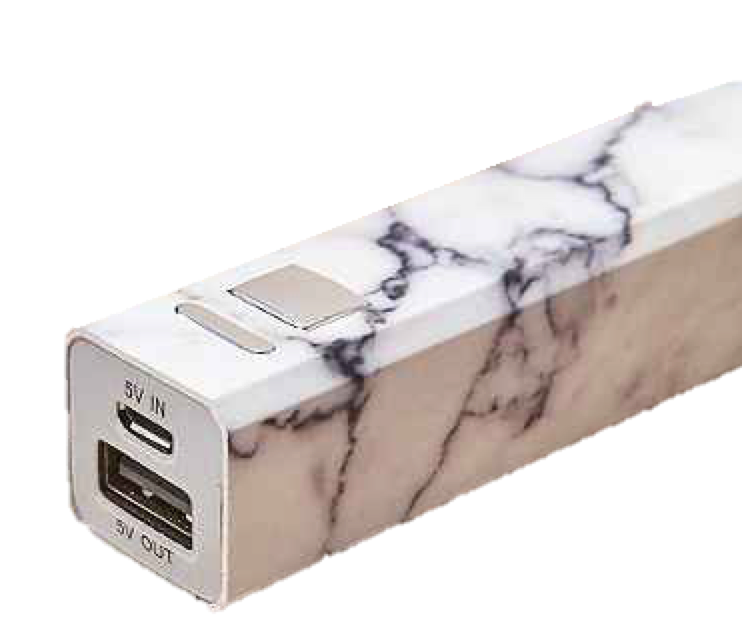 Photo from urbanoutfitters.com (Portable phone charger)