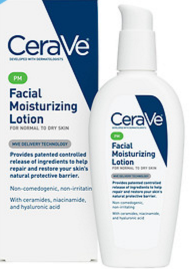 Photo from drugstore.com (CeraVe moitsurizer) $10.99