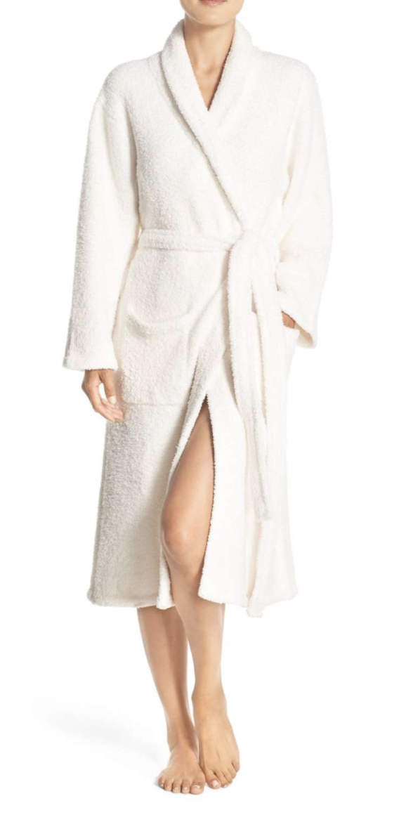 Spa Day - Get her a robe and slippers and send her to her favorite spa for a massage and facial. A manicure/pedicure would work as well!