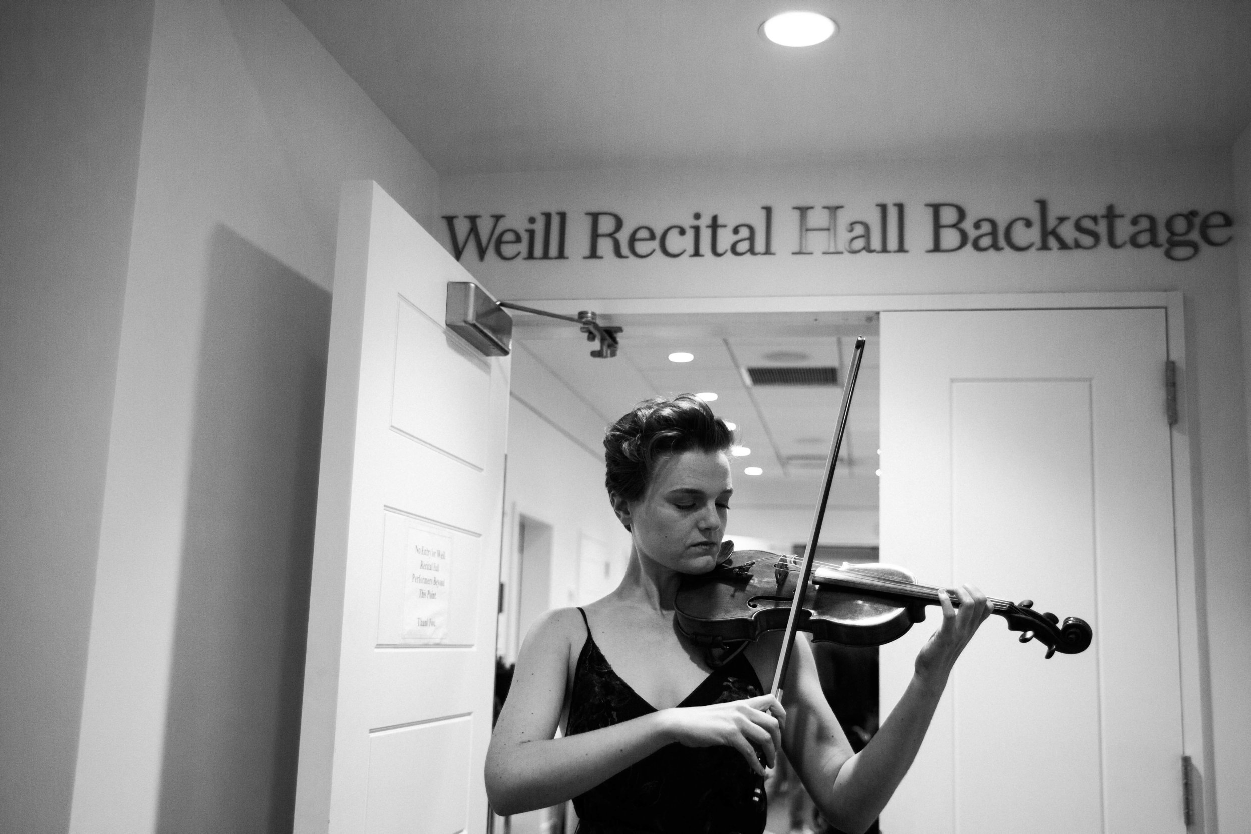 Warming up backstage before F-PLUS's Carnegie Hall debut Brittany Faith Photography, 2017