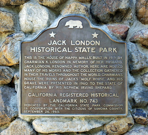 Jack London State Park Hiking and Museum
