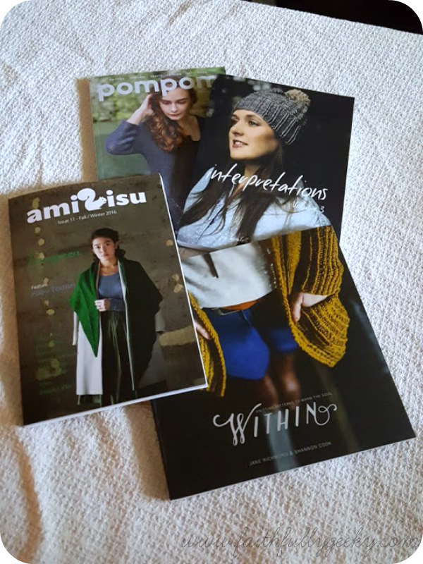 Pom Pom Quarterly ,  Interpretations ,  Amirisu ,  Within