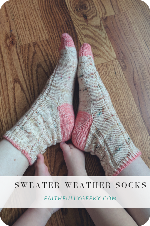 Sweater Weather Socks , Tabitha Gandee