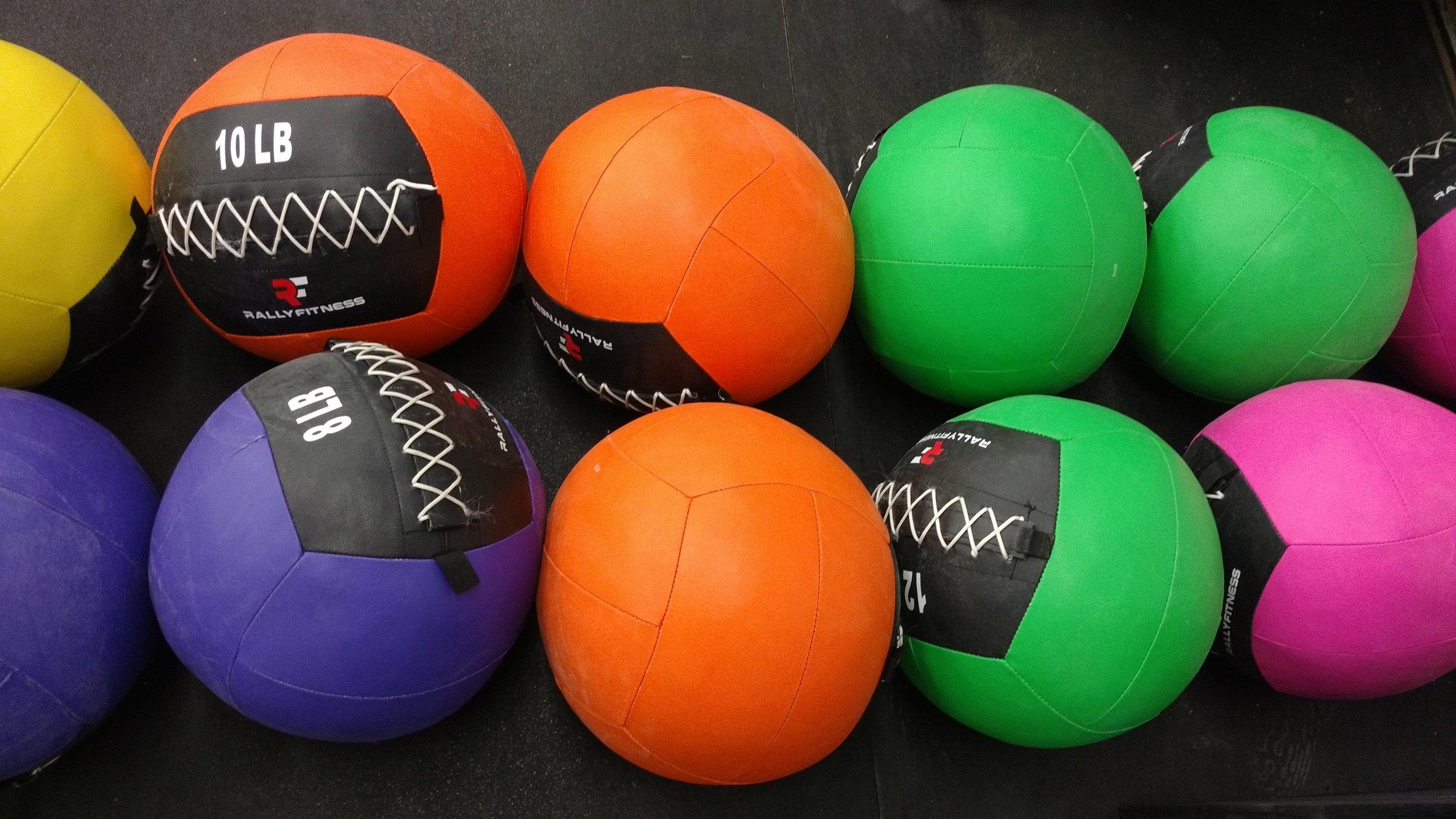Med Balls 6-14 lbs