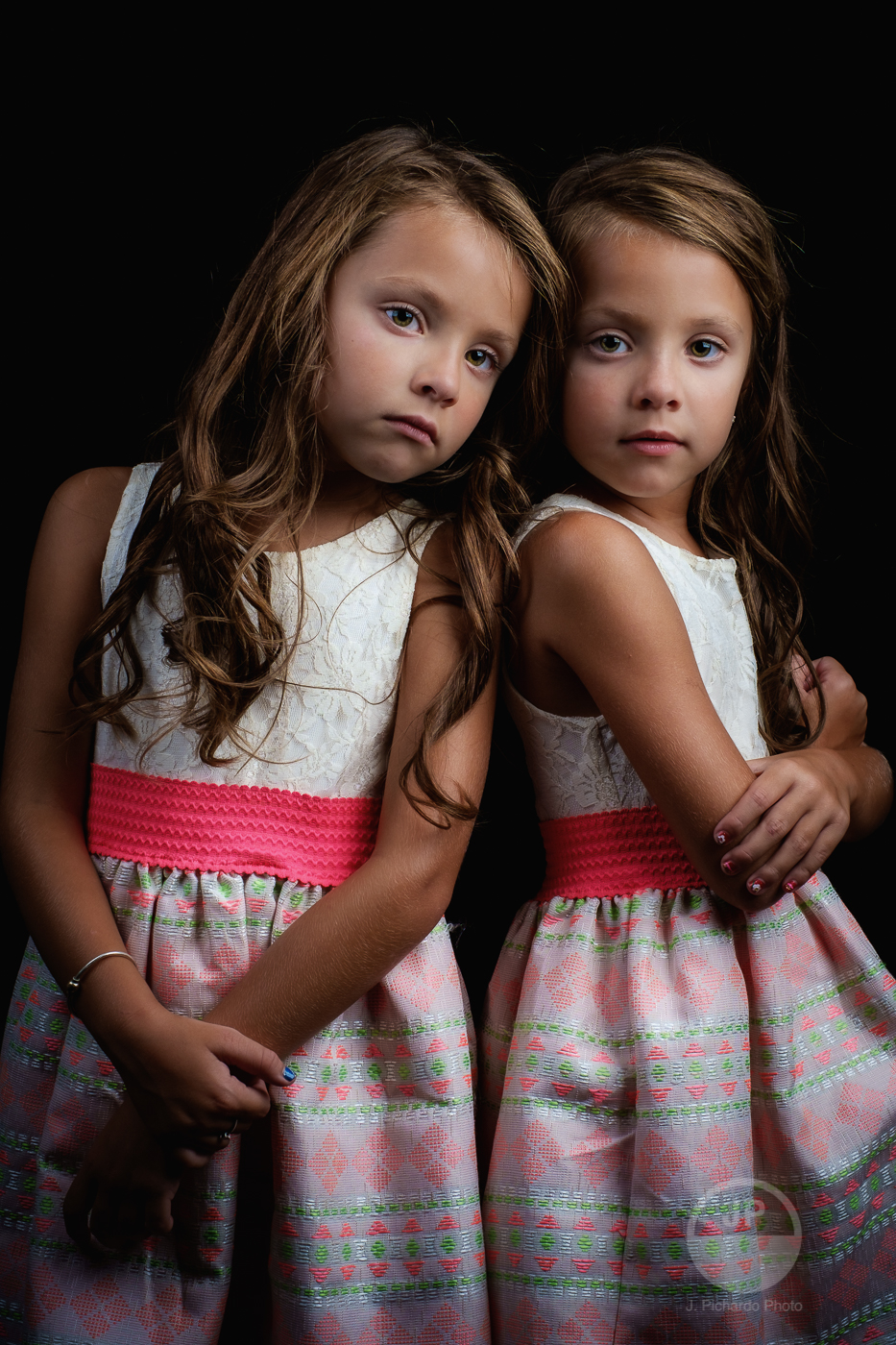 Two People Portrait