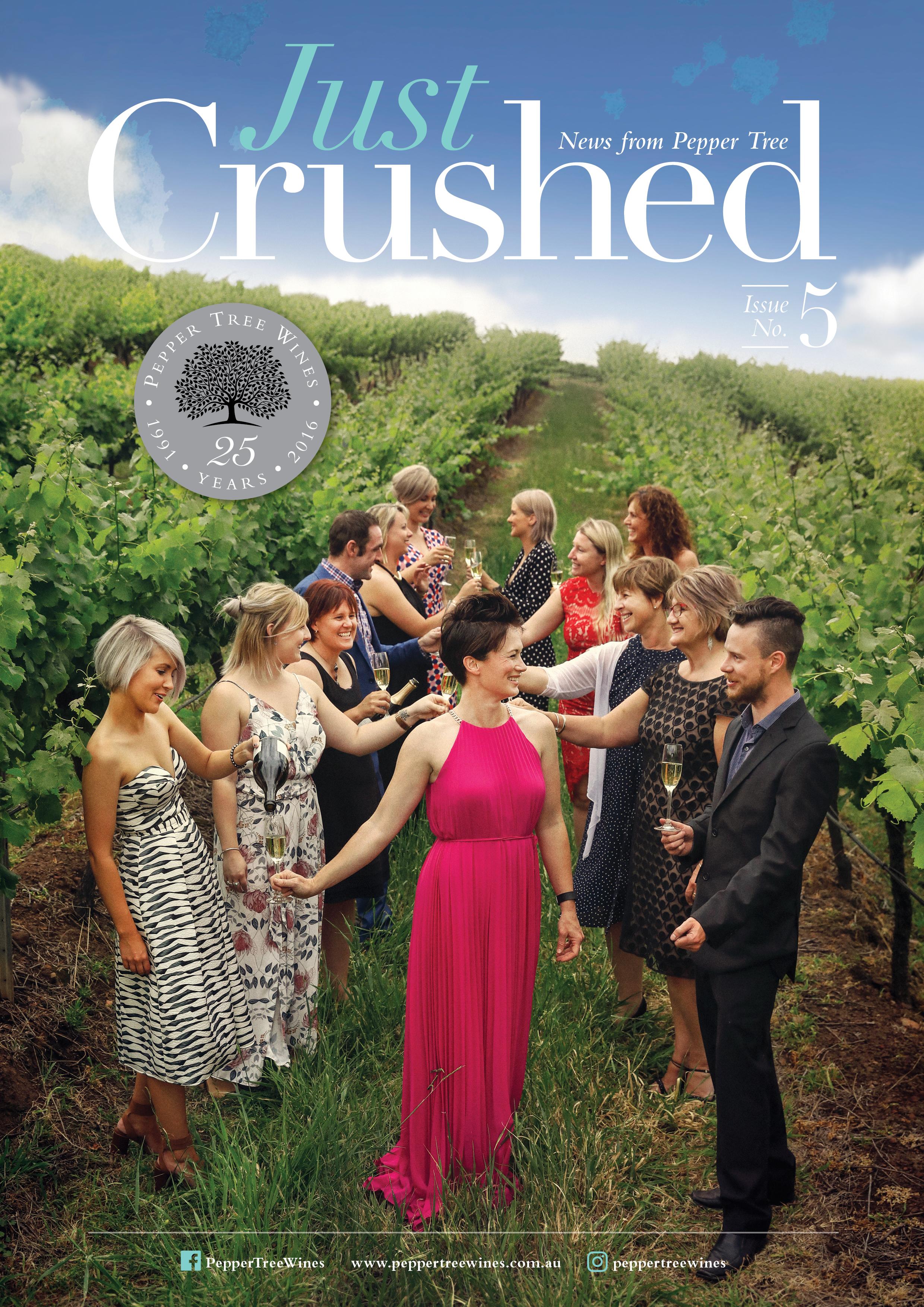 Pepper Tree Wines Newsletter