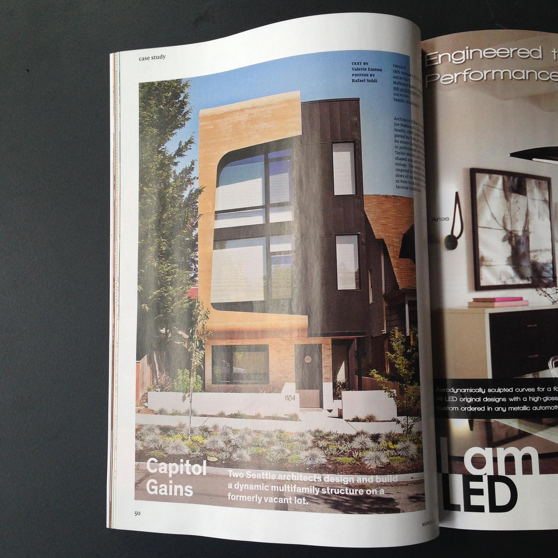 Malboeuf Bowie Architecture  Seattle  Modern  Architect