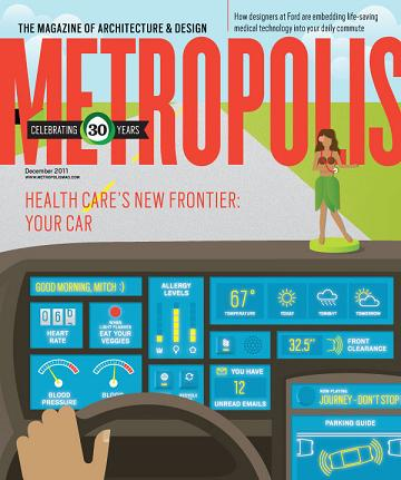 Metropolis Magazine: Urban Sanctuary   December 2011