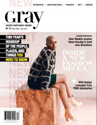 Model Home   Gray Magazine  December 2016