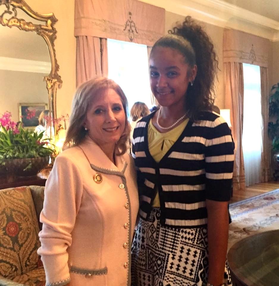 AnyaRae Joseph & First Lady of Louisiana