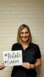 Stacy Williams, LCSW takes a stand against sexual violence