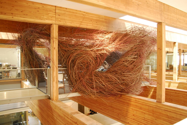 Bird Nest Meeting Room, Wieden + Kennedy