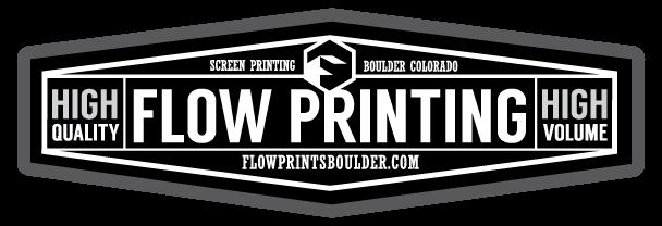 Flow Printing Logo