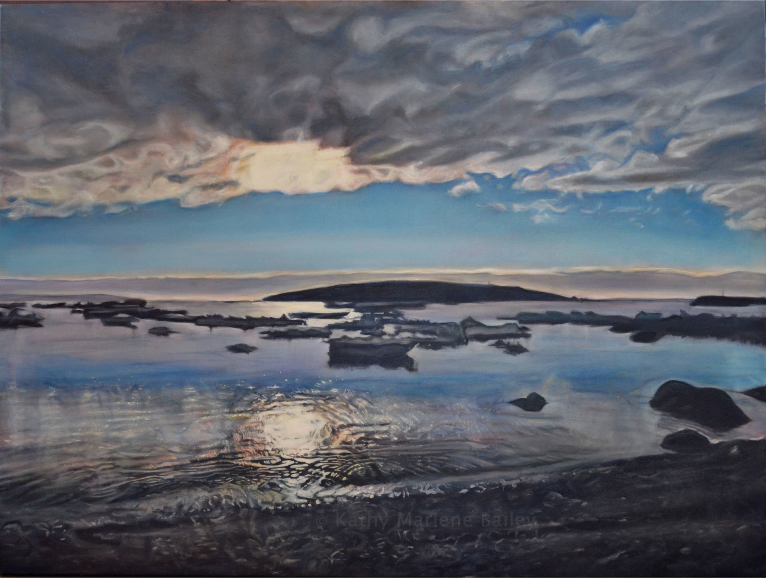 Thin Ice, Old Perlican, Island, Harbour, sunset, ice, pans, bergs, icebergs, global warming, fishery, Newfoundland and Labrador, NL, Nfld., Christina Parker, Gallery
