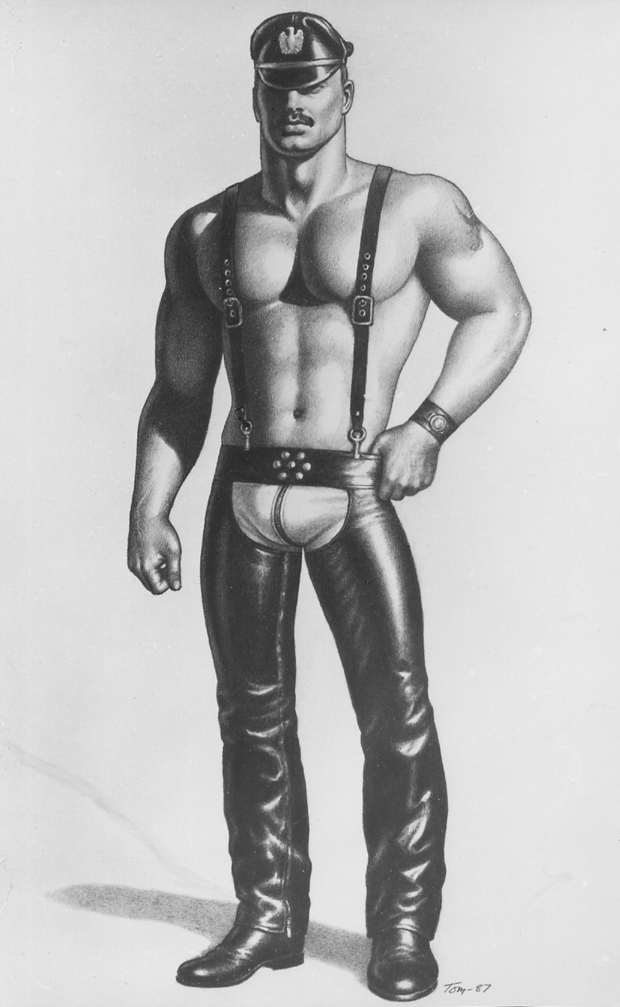 Tom of Finland - UNTITLED CHAPS MAN