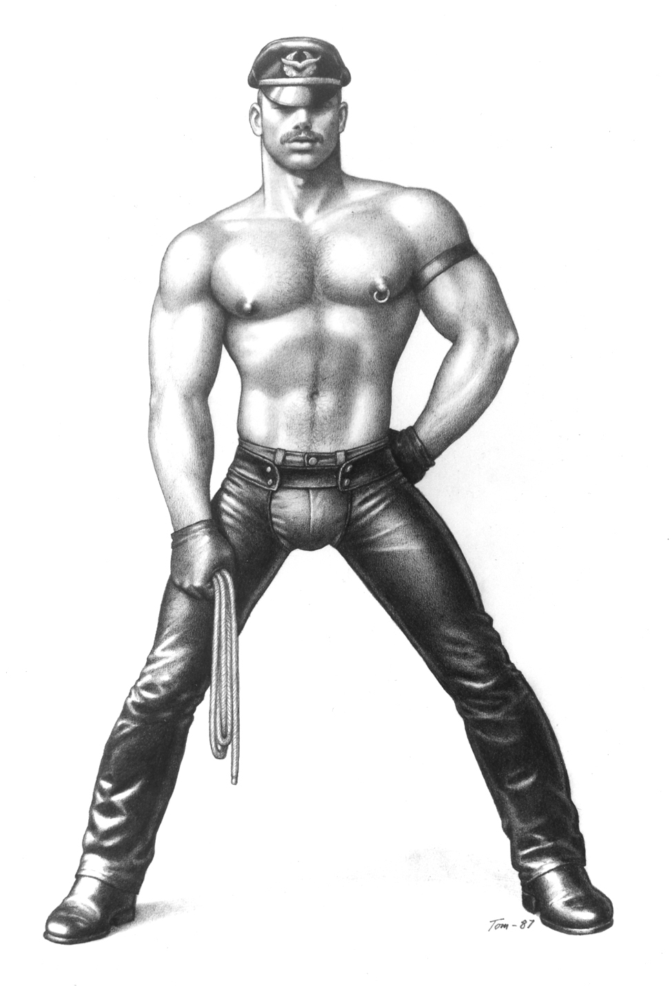 Tom of Finland - UNTITLED COVERMAN