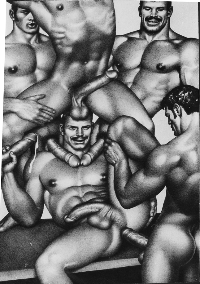 Tom of Finland - UNTITLED ORGY LITHO