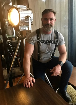 Kristofer Weston is a porn director, Leather Daddy and bondage expert in the San Francisco area. Having directed over 60 porn films and worked for studios like Falcon, COLT, and BoundJocks he knows his way around the adult and kink industry. And even knows more about rope!