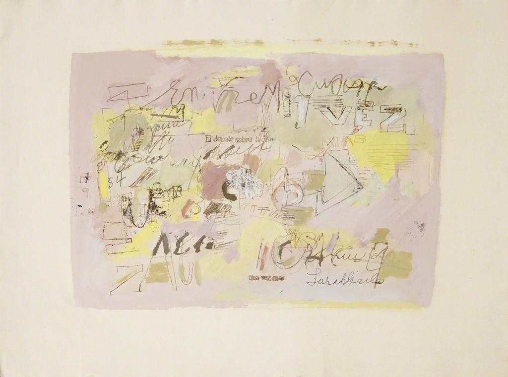 Sin título  (1984), oil on paper / Cecilia de Torres, Ltd., New York