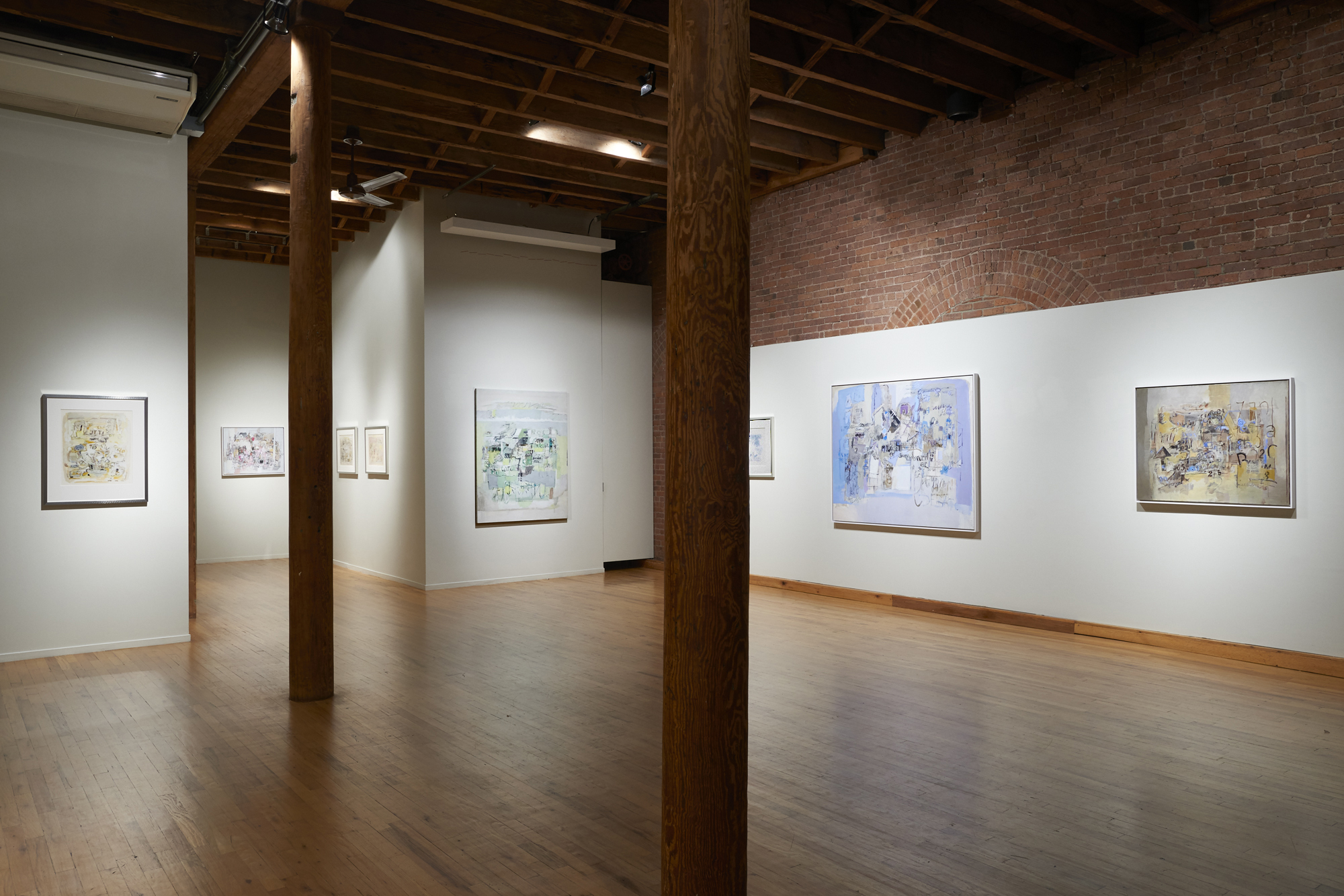 "Installation view of ""Sarah Grilo and the Urban Unconscious"", Cecilia De Torres, Ltd. New York, 2018"